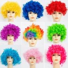 Fans Explosion Head Wig Dance Bar Wedding Party Dress Props Wig