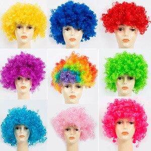 Fans Explosion Head Wig Dance