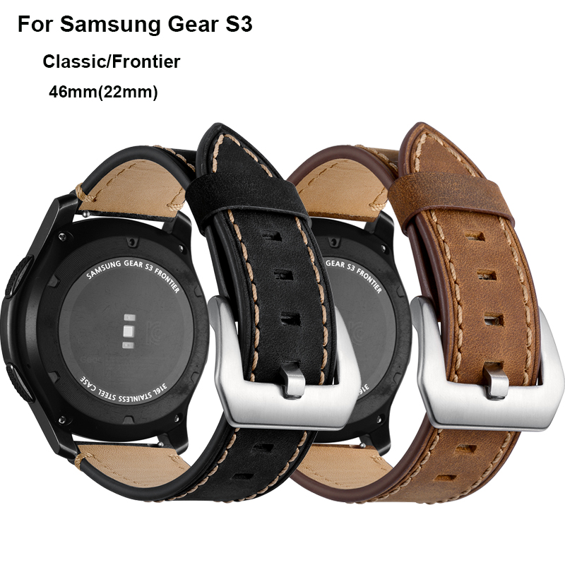 22mm Strap Bracelet For <font><b>Samsung</b></font> Galaxy Watch 46mm Band Gear <font><b>S3</b></font> <font><b>Frontier</b></font>/Classic huami amazfit huawei GT 2 watchband <font><b>Smartwatch</b></font> image