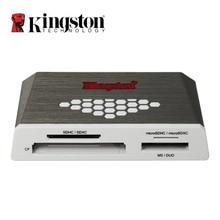 קינגסטון מיקרו SD כרטיס קורא USB 3.0 חיצוני כל באחד זיכרון TF כרטיס CF קורא Mulfunsctional מיקרו SD כדי USB מתאם