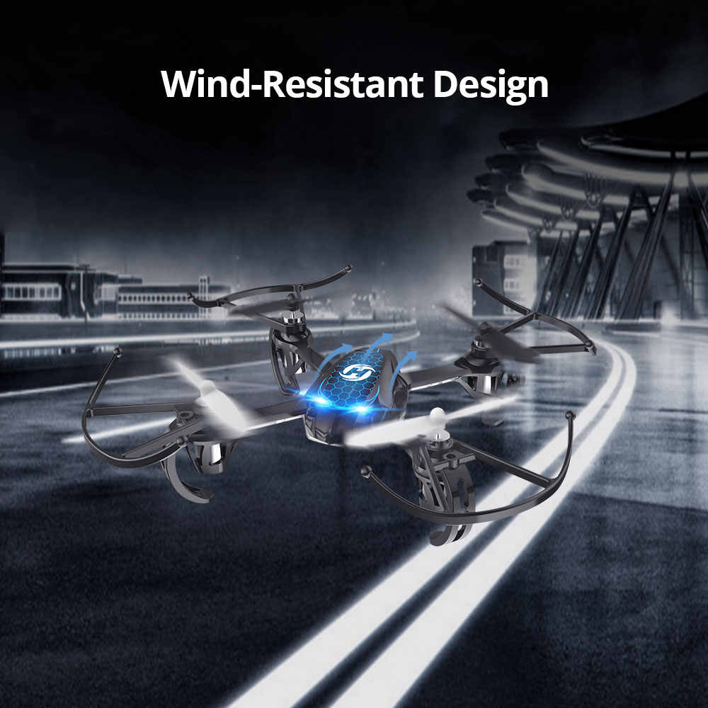 Holy Stone HS170S Mini Drone juguete niños RC Drones helicóptero 2,4 Ghz 6 Gyro Mini Quadcopter Helicóptero De Control Remoto juguete para niños
