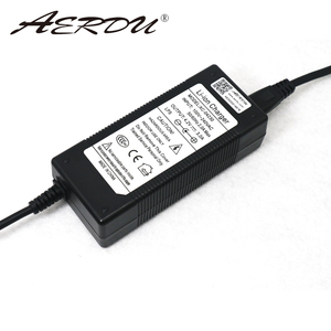 "Image 1 - AERDU 4.2v 3A ליתיום סוללות אוניברסלי מטען האיחוד האירופי ארה""ב בריטניה AU Plug AC 100V 240V DC5521 קיר תקע סוג אספקת חשמל מתאם"