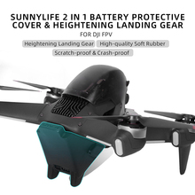 Batterij Beschermen Cap Anti Scratch Bescherming Houder Cover Voor Dji Fpv Drone