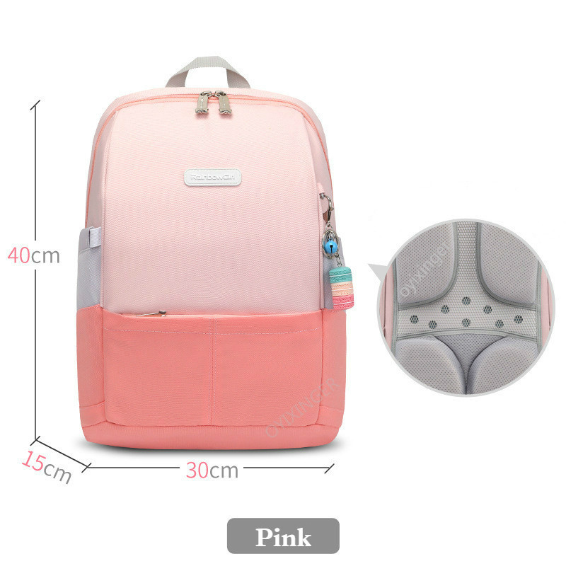 Schoolbag For Primary Students Girls 2020 New Backpacks For 1-6 Grade Korean Style Candy Colors Backpack Children School Bags