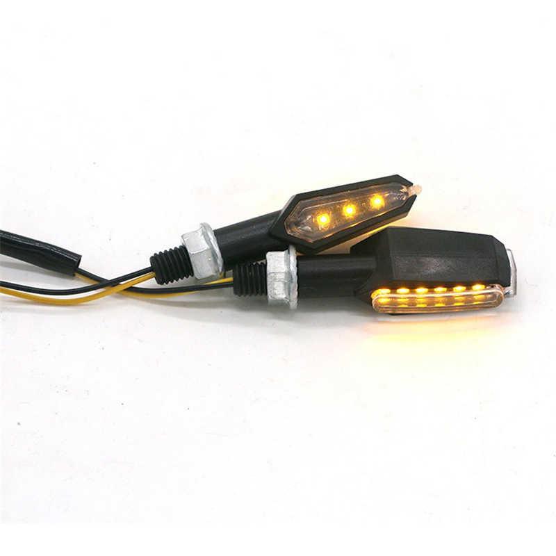 Luz de señal de giro para motocicleta Flasher luz intermitente para KAWASAKI ninja 400 z300 ninja 300 para SUZUKI gsx 1250fa sv 1000 bandit 650s