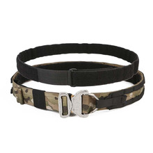 """TMC Tactical Cobra 1.75"""" & 2"""" Inner & Outer Two Belts Rigger Patrol Duty Belt AustriAlpin Buckle w/ D Ring Hunting Accessories"""