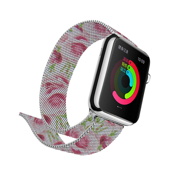 Milanese Printing Band for Apple Watch 4