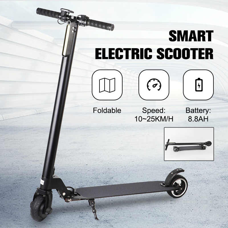 Foldable KickScooter Braking System Smart Electric Scooter Lightweight Aluminum Smart Electric Scooter 2 wheel foldable hover