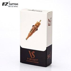 Image 1 - EZ V выберите татуировки иглы #12 (0,35 мм) круглый вкладыш эластичная мембрана Для Татуировка Машин 20 шт./кор.