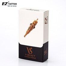EZ V Select خرطوشة الإبر #12 (0.35 مللي متر) بطانة مستديرة الوشم الإبر غشاء مرن لآلات الوشم خرطوشة 20 قطع