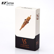 Ez V Selecteer Cartridge Naalden #12 (0.35 Mm) ronde Liner Tattoo Naalden Elastische Membraan Voor Cartridge Tattoo Machines 20 Stuks