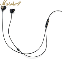 Original MARSHALL MODE EQ In Ear Headphones HiFi Rock Subwoofer Wire Earphone for ANDROID iOS Phone High Sound Quality