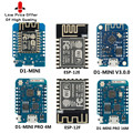 10 шт. D1 мини ESP8266 ESP-12 ESP-12F CH340G V2 USB WeMos D1 мини WI-FI макетная плата D1 NodeMCU Lua IOT доска 3,3 V с булавками