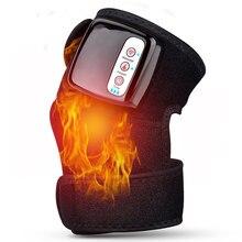 Massage chauffant à infrarouge lointain, vibrant, pour les articulations, les genoux, les coudes, la physiothérapie, la récupération de larthrite, soulage la douleur