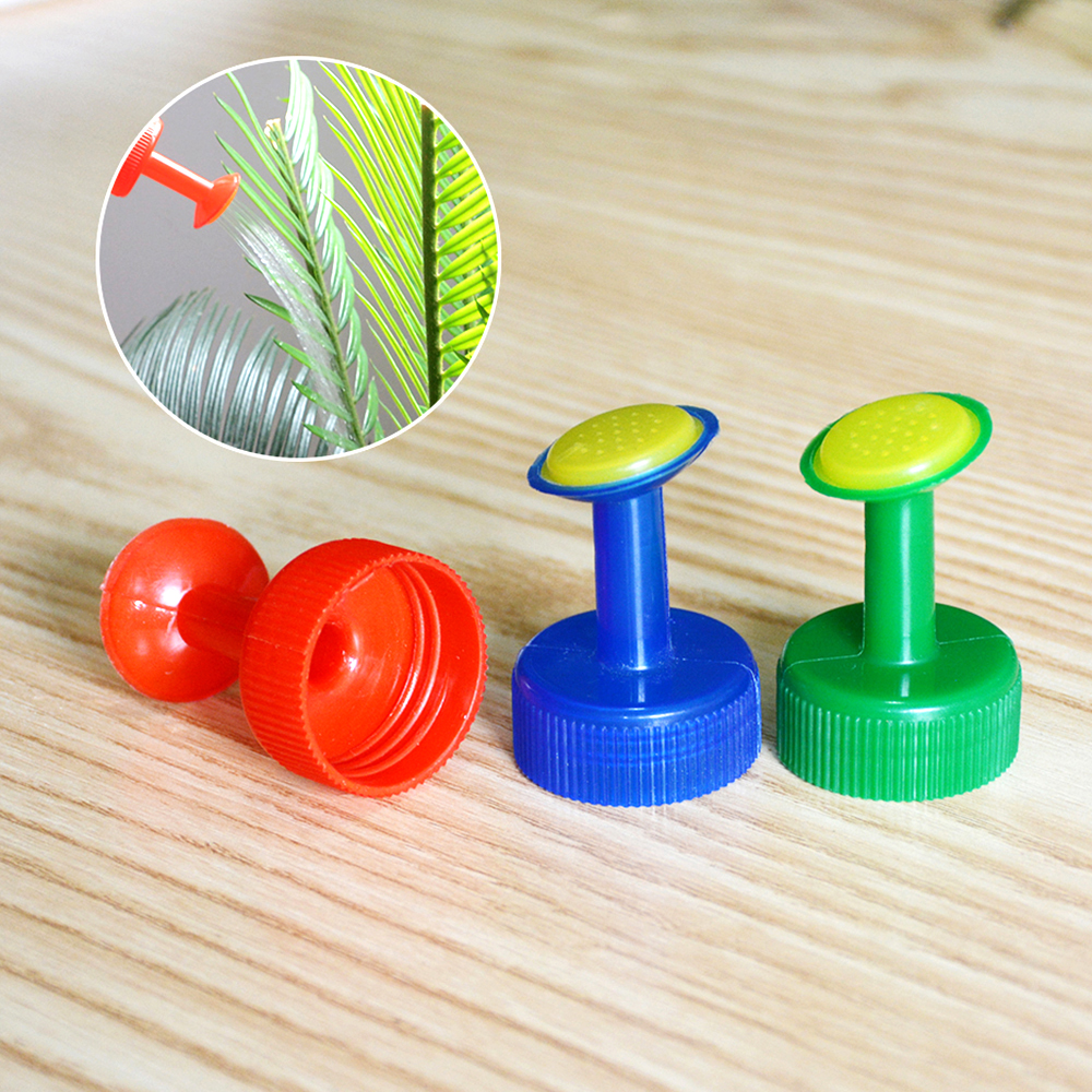 1PC GB 28mm Bottle Cap Sprinkler PVC Plastic Watering Little Nozzle Sprinkler Head Watering Vegetables Mist Nozzle|Water Cans| |  - title=