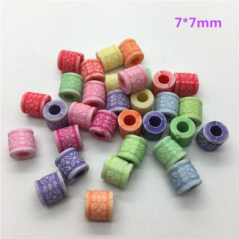 50 шт разноцветные акриловые бусины с перфорацией DIY серьги для изготовления ювелирных изделий ожерелье браслет аксессуары - Цвет: 78