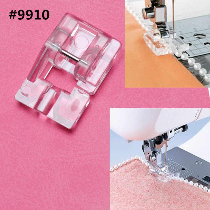 Gorący przewód elastyczny pasek tkanina Stretch domowa maszyna do szycia część akcesoria stopka dociskowa #9907-6 7YJ26-2