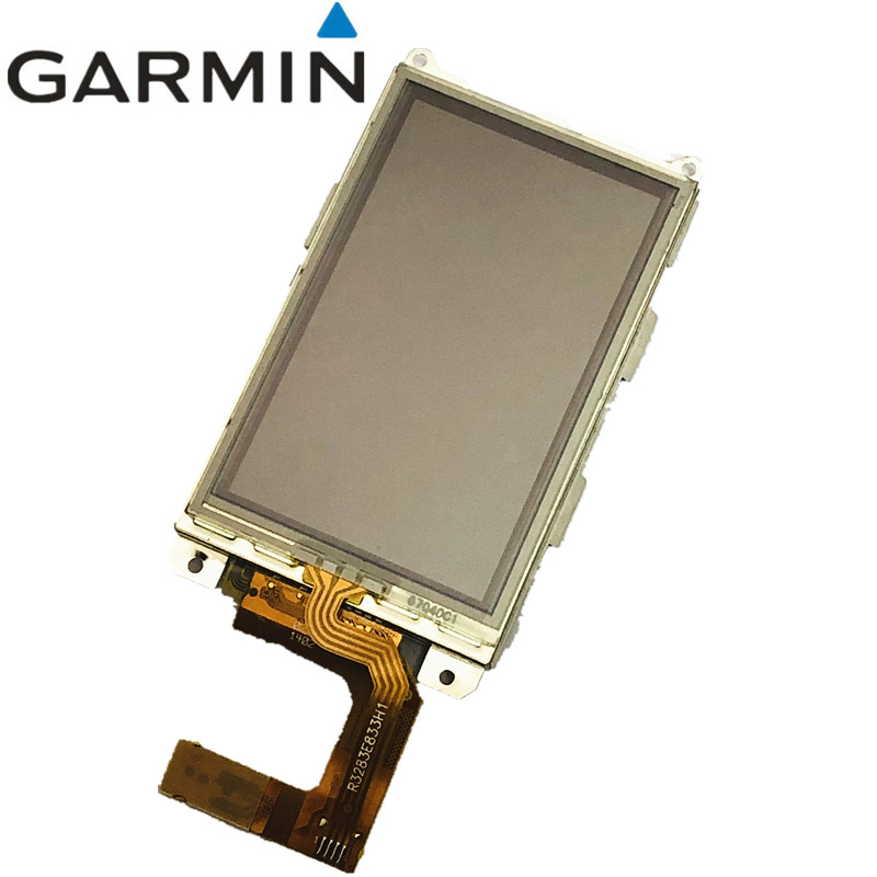 Original Complete LCD screen for Garmin Alpha <font><b>100</b></font> hound tracker handheld <font><b>GPS</b></font> LCD display screen + touch screen digitizer panel image
