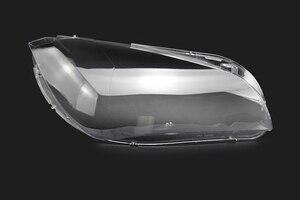 Image 4 - Araba far camı BMW X1 E84 2010 2011 2012 2013 2014 2015 araba far far Lens otomatik kabuk kapak