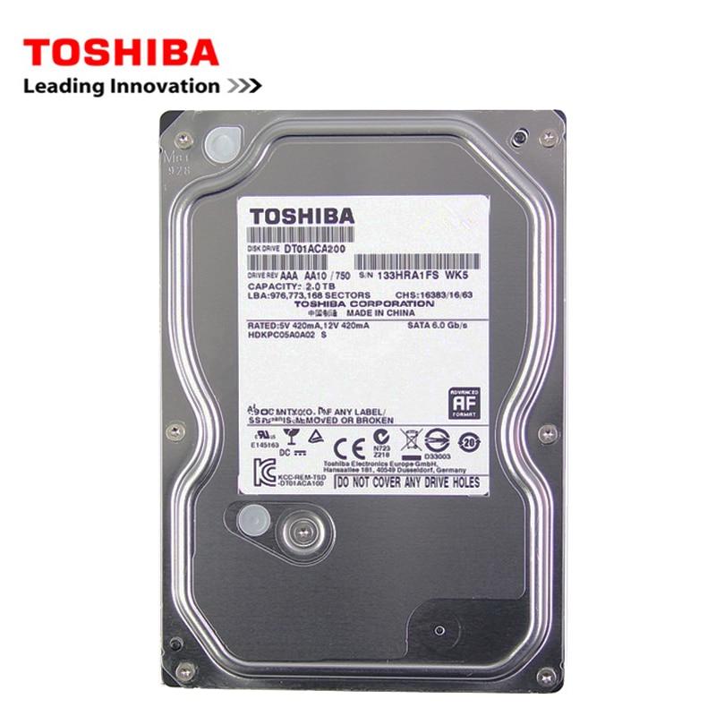 "Toshiba 500GB desktop computer hdd 3.5"" internal mechanical hard disk SATA3 6Gb/s hard disk 1TB 2TB 5700-7200 RPM buffer 3"