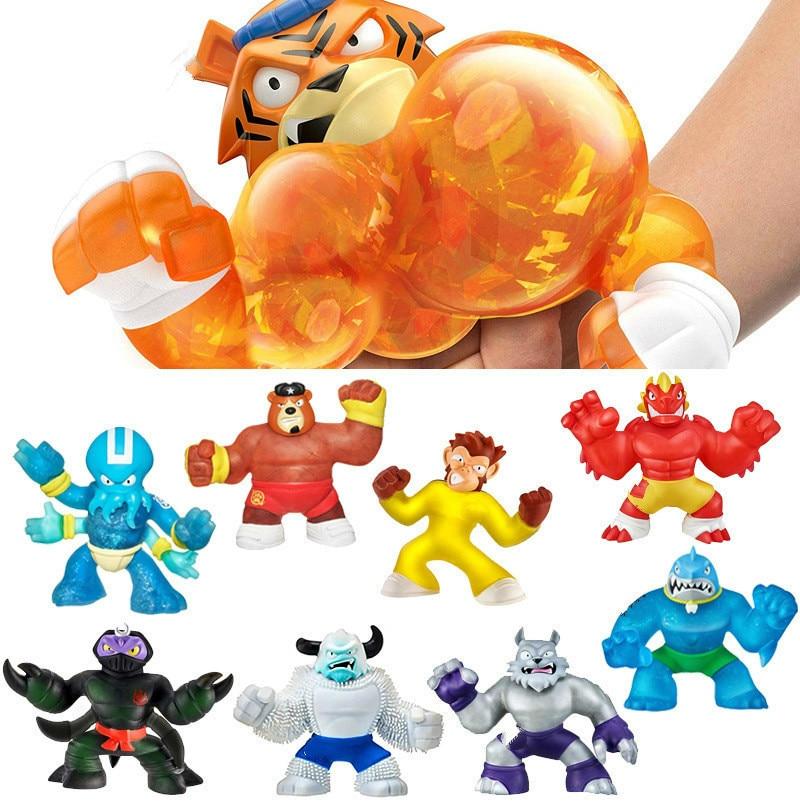Goo Hero Jit Zu Kawaii красочная галактика Единорог Мягкая кукла медленно восстанавливающая форму сжимаемая игрушка для малышей Рождественский под...
