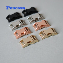 100pcs/lot metal buckles quick side release belt buckle 15mm webbing for dog pet collar bags paracord garment sewing accessories