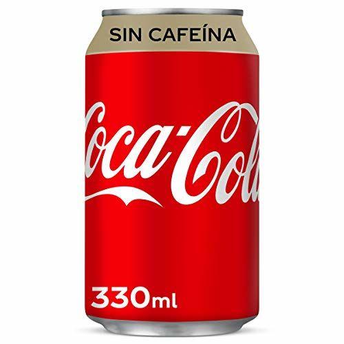 Refresco Individual De Cola Coca Cola Sin Cafeína Lata 33 Cl