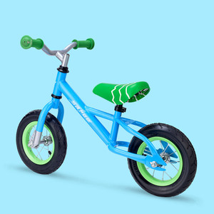 Kids Scooter Car 10 Inch Childs Baby 2 Wheel Ride Car Lightweight Mini Removable Bike Small Protable Without Pedal Scooter Toys
