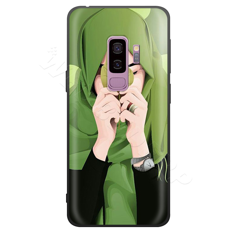 Image 3 - Webbedepp Cute Muslim Islamic Girl Case for Samsung Galaxy S7 S8  S9 S10 Plus Edge Note 10 8 9 A10 A20 A30 A40 A50 A60 A70Fitted Cases