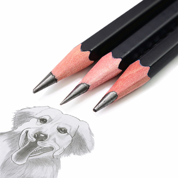 5B 4B 3B Tekening schets potlood hoge kwaliteit is niet gemakkelijk te breken School art professionele praktijk test potlood