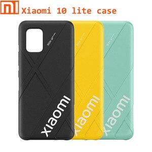 "Image 1 - Originele Xiaomi 10 Lite Case 6.47 ""Bescherming Ingebouwde Matte Cover Voor Xiaomi 10 Lite Case Mi 10 lite Ultra Dunne Dikte"