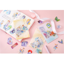 40pcs/lot Kwaii Have Your Starry Series Mini Decorative Stickers Adhesive Stickers Scrapbooking DIY Decoration Diary Stickers цена