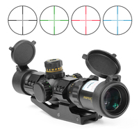Riflescope 1 4x28 Sniper Rifle AR15 AK Rifle Scope For Hunting Sight Rifle Scope With 20MM Scope Mount For Shooting