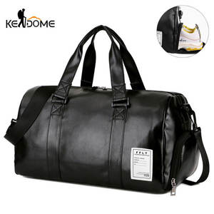Gym-Bag Shoes Luggage-Shoulder Sports-Bags Travel Sac-De-Sport-Xa512wd Fitness Yoga Black