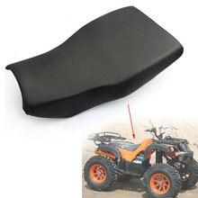 Мотоцикл atv двойное сиденье пены Губка Подушка для quad внедорожного
