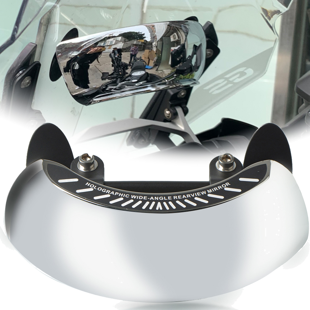 Motorcyle Driver Wide Angle Round Convex Mirror Blind Spot RearView Vehicle For <font><b>BMW</b></font> F800GS F700GS F800 F700 <font><b>F</b></font> 800 <font><b>700</b></font> <font><b>GS</b></font> R1250GS image