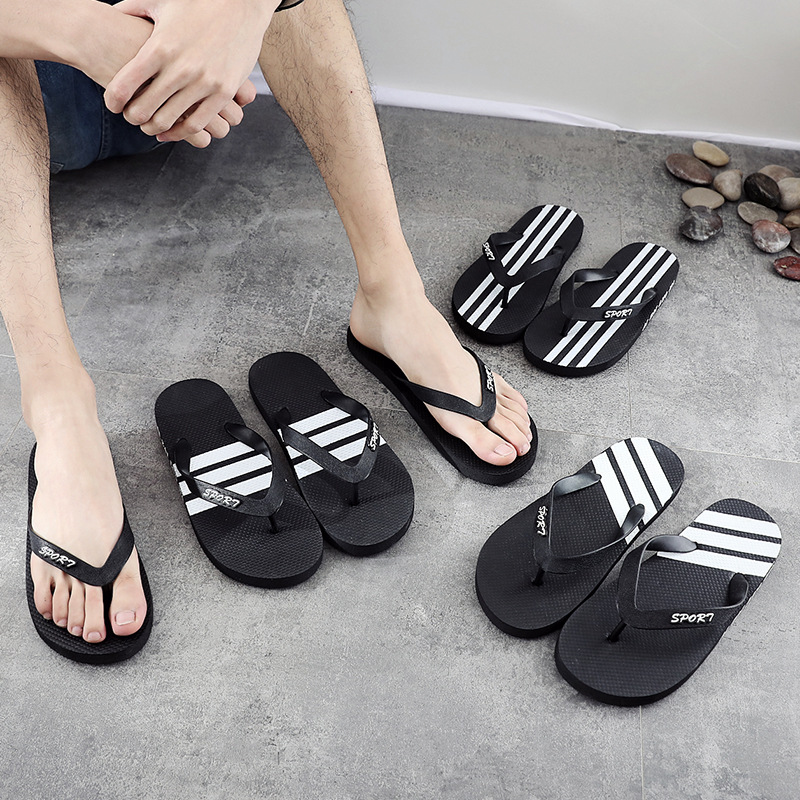 Huazi2 Summer Wear Non-Slip Trend Korean Beach Sandals Personality Half Slipper