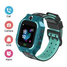 New photo children's smart watch phone watch smart positioning waterproof watch 6 generation multi-language phone answering все цены