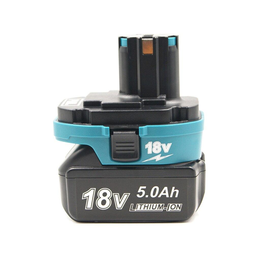 Battery Adapter Converter For Makita 18V BL1820/30/40/50 Li-ion Battery To 18V NI-Cd Ni-MH Li-ion Battery Tool USB Charger