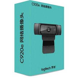 Image 2 - Logitech מקורי C920C C920E C920 פרו Usb מצלמה HD חכם 1080p לחיות עוגן מצלמת אינטרנט מחשב נייד משרד ישיבות וידאו Logi מותג חם