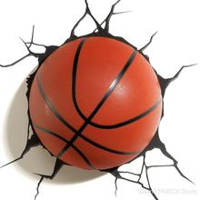 Lámpara Led de pared DREAM MASTER para baloncesto, fútbol, tenis, béisbol, animación, modelo, lámpara de pared de habitación para niños, lámpara Led moderna