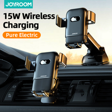 15W Qi Wireless W/ charger Car Phone Holder Intelligent Infrared Fast Charge Stand Car Phone Holder For iPhone Phone Holder