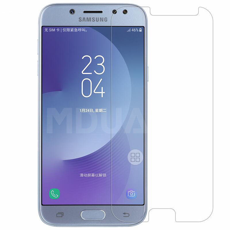 9H Protective Glass on the For Samsung Galaxy J3 J5 J7 2017 2016 2015 J2 J8 J4 J6 Plus 2018 Tempered Screen Protector Glass Film image