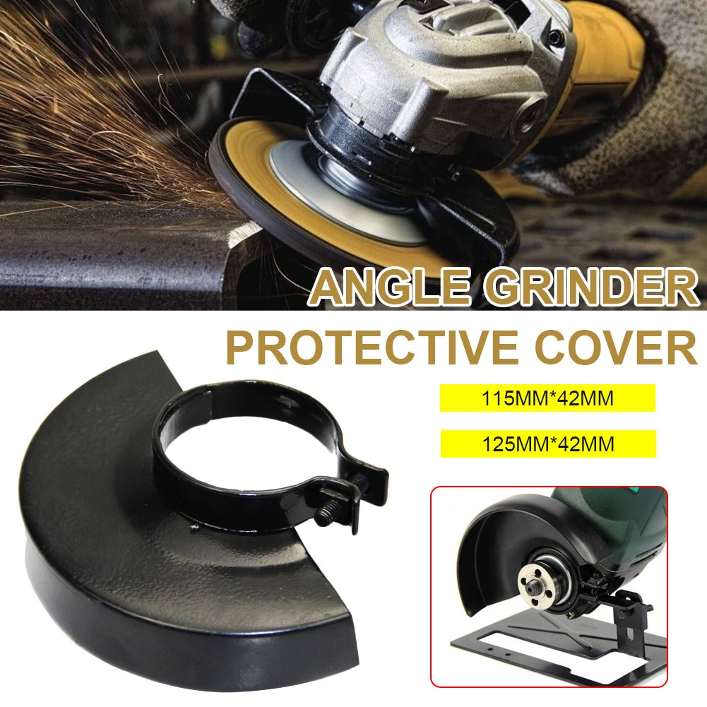 Electric Angle Grinder Angle Grinder Cover 115mm/125mm Angle Grinder Protector Angle Grinder Metal Safety Guard Protector