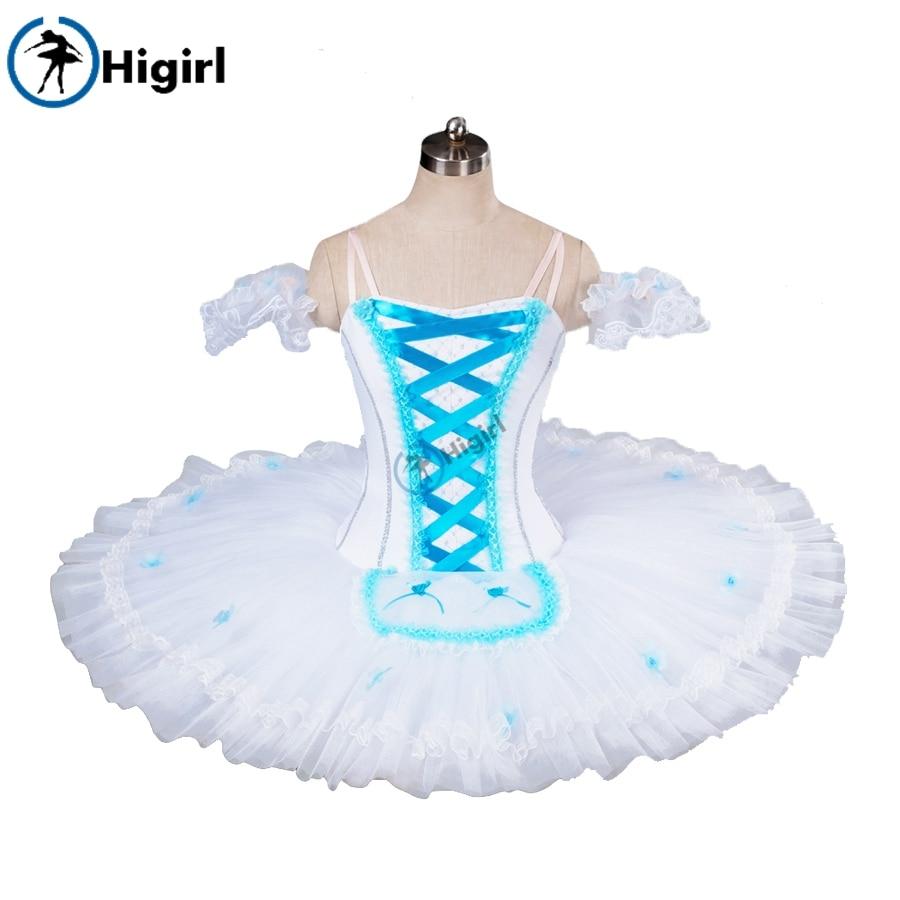 Ballet Nutcracker Tutu White Adult Professional Ballet Tutus Ballet Blue Costume Children White Ballet Costume BT8964D