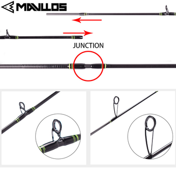 Best Mavllos DELICACY L.W 0.6-8g UL Fishing Rod Casting Spinning Rod Fishing Rods cb5feb1b7314637725a2e7: Black|White