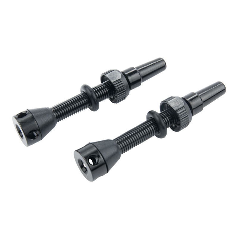 1 пара 44 мм бескамерный воздушный клапан для дорожного велосипеда и MTB бескамерный клапан