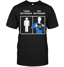 Knicks : Your Boyfriend My Boyfriend T-Shirt(China)