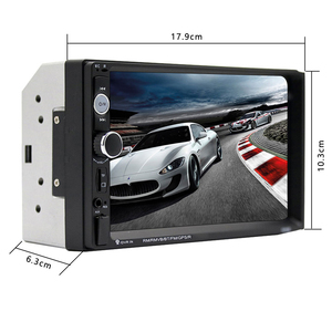 Image 3 - Hikity Car Radio Player Mirror Link autoradio 2 din 7 LCD Touch Screen Car Stereo MP5 Bluetooth auto stereo Rear View Camera