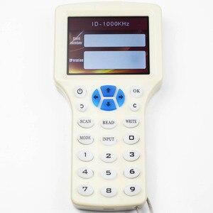 Image 5 - 10 anglais fréquence RFID copieur duplicateur 125KHz porte clés NFC lecteur écrivain 13.56MHz crypté programmeur USB UID copie carte étiquette